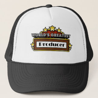 World's Greatest Producer Trucker Hat