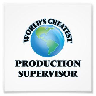 World's Greatest Production Supervisor Photo Print