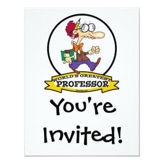 WORLDS GREATEST PROFESSOR MEN CARTOON CARD