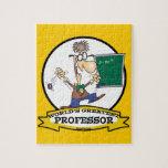WORLDS GREATEST PROFESSOR MEN CARTOON PUZZLES