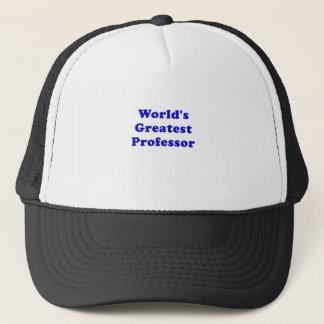 Worlds Greatest Professor Trucker Hat