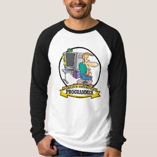 WORLDS GREATEST PROGRAMMER MEN CARTOON T-Shirt
