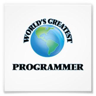 World's Greatest Programmer Art Photo