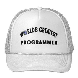 Worlds Greatest Programmer Trucker Hat