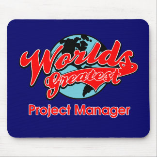 World's Greatest Project Manager Mouse Pad