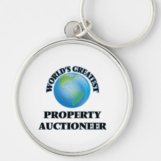 World's Greatest Property Auctioneer Key Chains