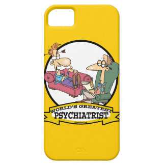 WORLDS GREATEST PSYCHIATRIST CARTOON iPhone 5 COVER