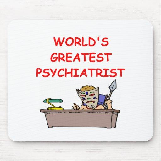 world's greatest psychiatrist mouse pad