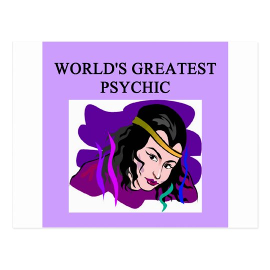world's greatest psychic postcard