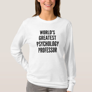 Worlds Greatest Psychology Professor T-Shirt