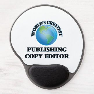 World's Greatest Publishing Copy Editor Gel Mouse Pads