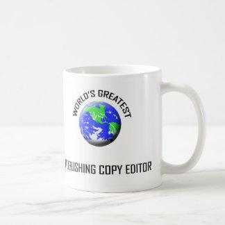 World's Greatest Publishing Copy Editor Coffee Mug
