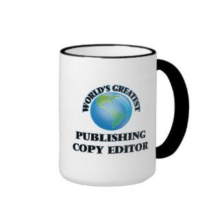 World's Greatest Publishing Copy Editor Mugs