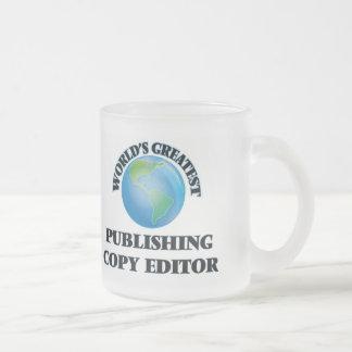 World's Greatest Publishing Copy Editor Coffee Mugs