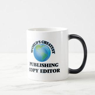 World's Greatest Publishing Copy Editor Mug