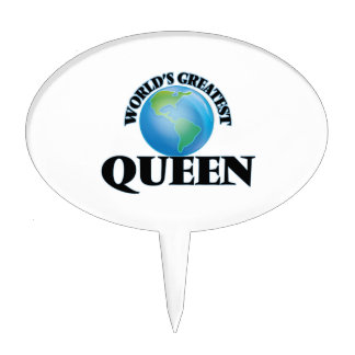World's Greatest Queen Cake Pick