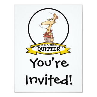 WORLDS GREATEST QUITTER SMOKER CARTOON CARD
