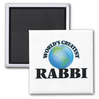 World's Greatest Rabbi Fridge Magnet