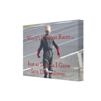 World's Greatest Racer Canvas Print