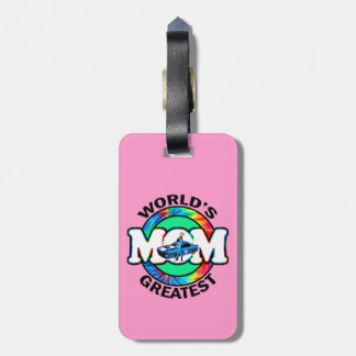 World's Greatest Racing Mom Tags For Bags