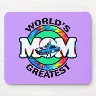 World's Greatest Racing Mom Mouse Pad