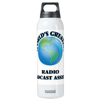 World's Greatest Radio Broadcast Assistant SIGG Thermo 0.5L Insulated Bottle
