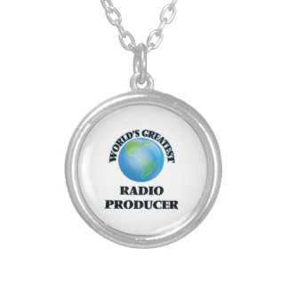 World's Greatest Radio Producer Personalized Necklace