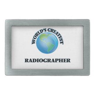 World's Greatest Radiographer Belt Buckle