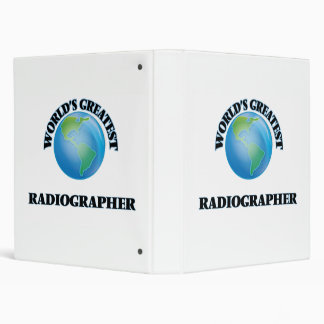 World's Greatest Radiographer Binder