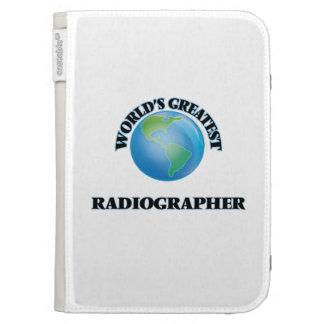 World's Greatest Radiographer Kindle Folio Case