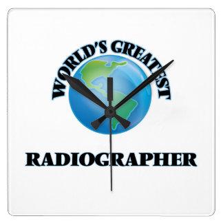 World's Greatest Radiographer Clocks