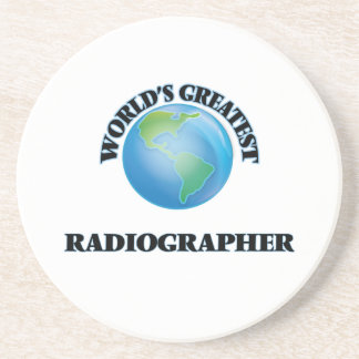 World's Greatest Radiographer Drink Coaster