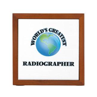World's Greatest Radiographer Pencil/Pen Holder