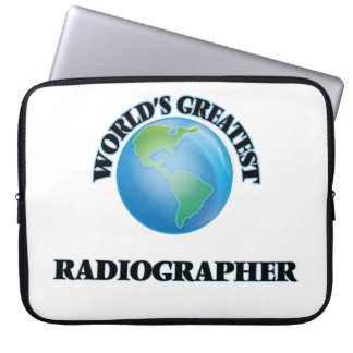 World's Greatest Radiographer Laptop Sleeves