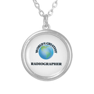 World's Greatest Radiographer Personalized Necklace