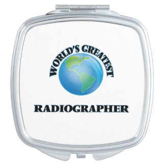 World's Greatest Radiographer Compact Mirror