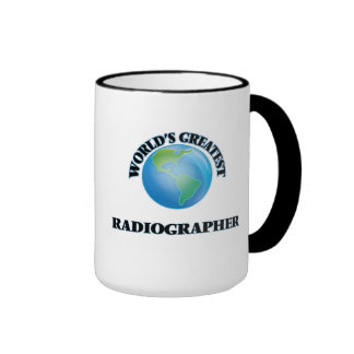World's Greatest Radiographer Ringer Mug