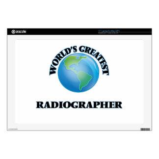 World's Greatest Radiographer Laptop Skins