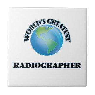World's Greatest Radiographer Tile