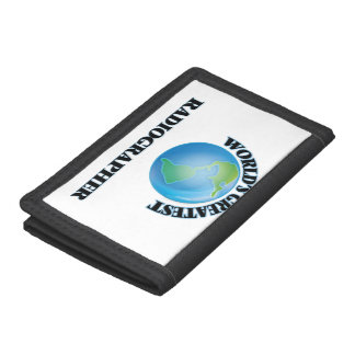 World's Greatest Radiographer Trifold Wallet