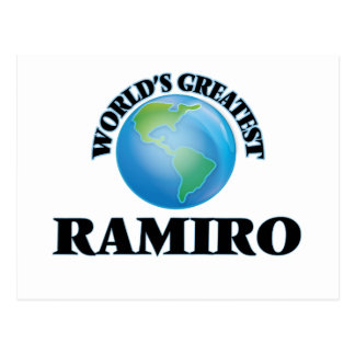 World's Greatest Ramiro Post Card