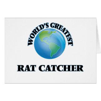 World's Greatest Rat Catcher Greeting Cards