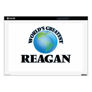 "World's Greatest Reagan 17"" Laptop Decal"
