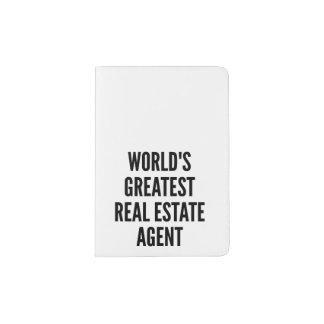 Worlds Greatest Real Estate Agent Passport Holder