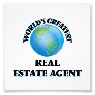 World's Greatest Real Estate Agent Photograph