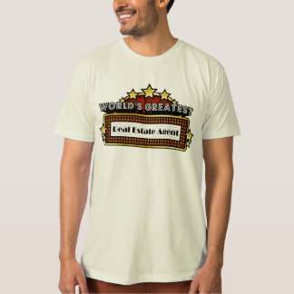 World's Greatest Real Estate Agent T-Shirt