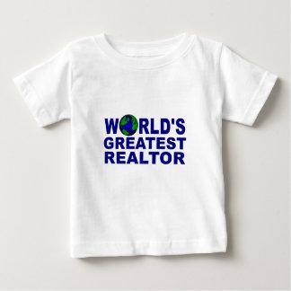 World's Greatest Realtor Baby T-Shirt