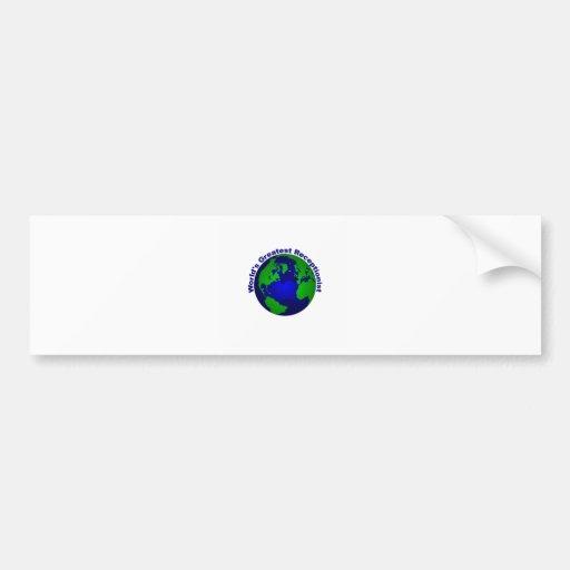 World's Greatest Receptionist Car Bumper Sticker