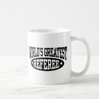 World's Greatest Referee Classic White Coffee Mug