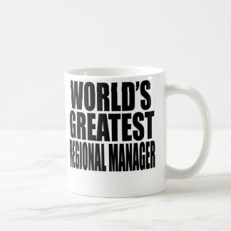 World's Greatest Regional Manager Coffee Mug
